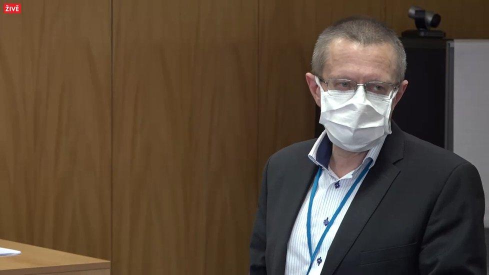 Šéf ÚZIS Ladislav Dušek na tiskové konferenci ministerstva zdravotnictví (13.11.2020)