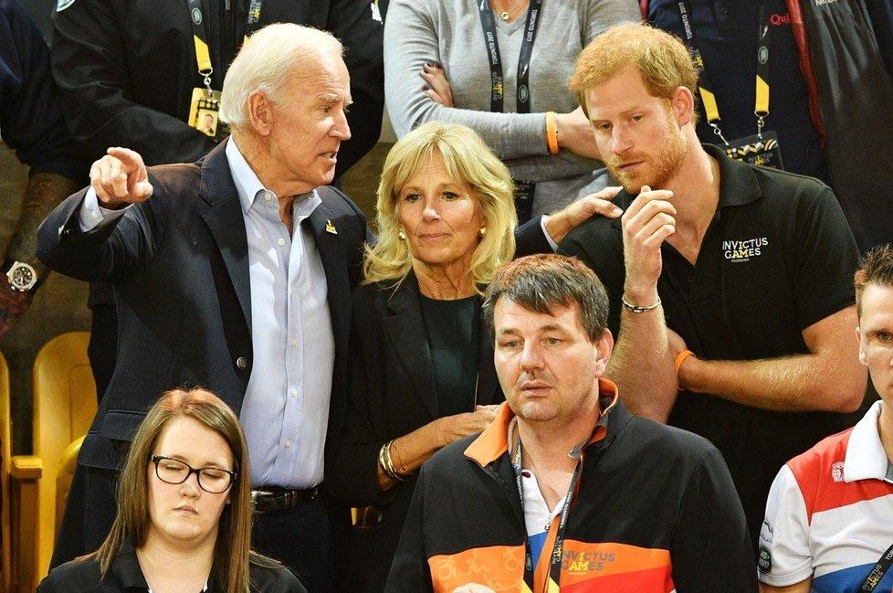 Blízký vztah má i Joe Bidenovi