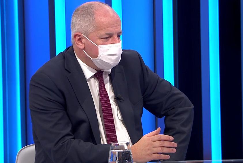 Epidemiolog a bývalý ministr zdravotnictví Roman Prymula (za ANO) v pořadu TV Prima Partie (15.11.2020)