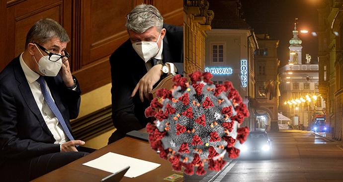 Vláda podpořila zmírnění protiepidemických opatření v Česku.