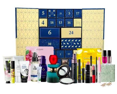 Adventní kalendář Oriflame, 2599 Kč
