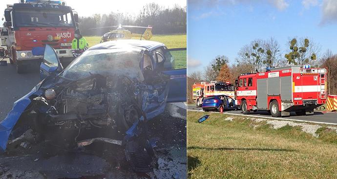 Smrtí dvou řidičů skončila sobotní nehoda na Novojičínsku.