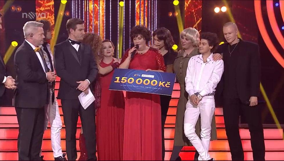 Vítězkou sedmé řady Tvoje tvář má známý hlas VII. se stala Jitka Čvančarová