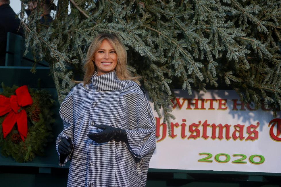 První dáma USA Melania Trumpová