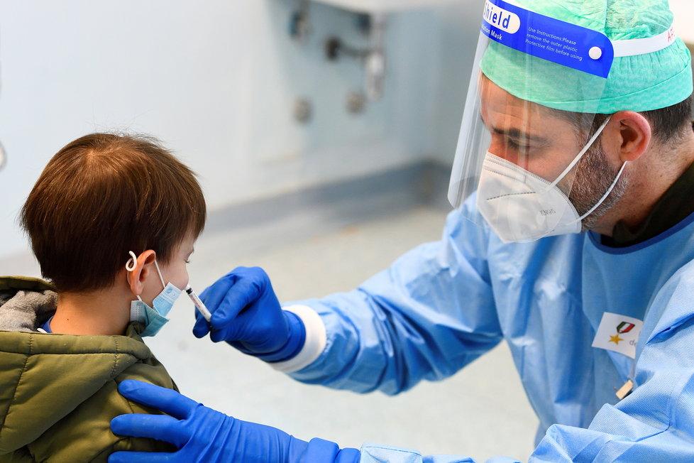 Koronavirus u dětí.
