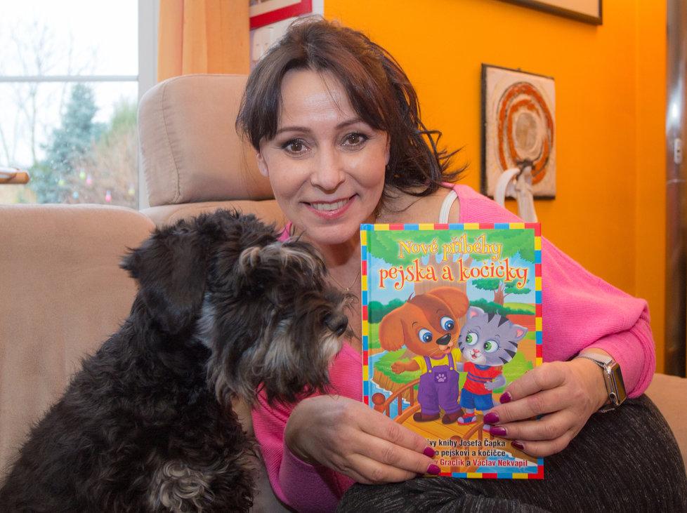 Heidi Janků namluvila Nové příběhy pejska a kočičky