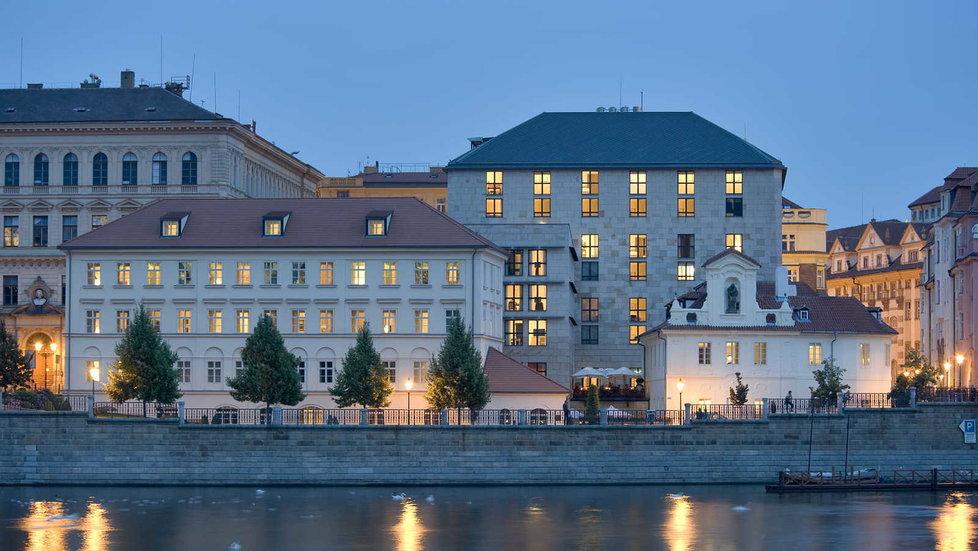 Hotel Four Seasons na pražském Josefově