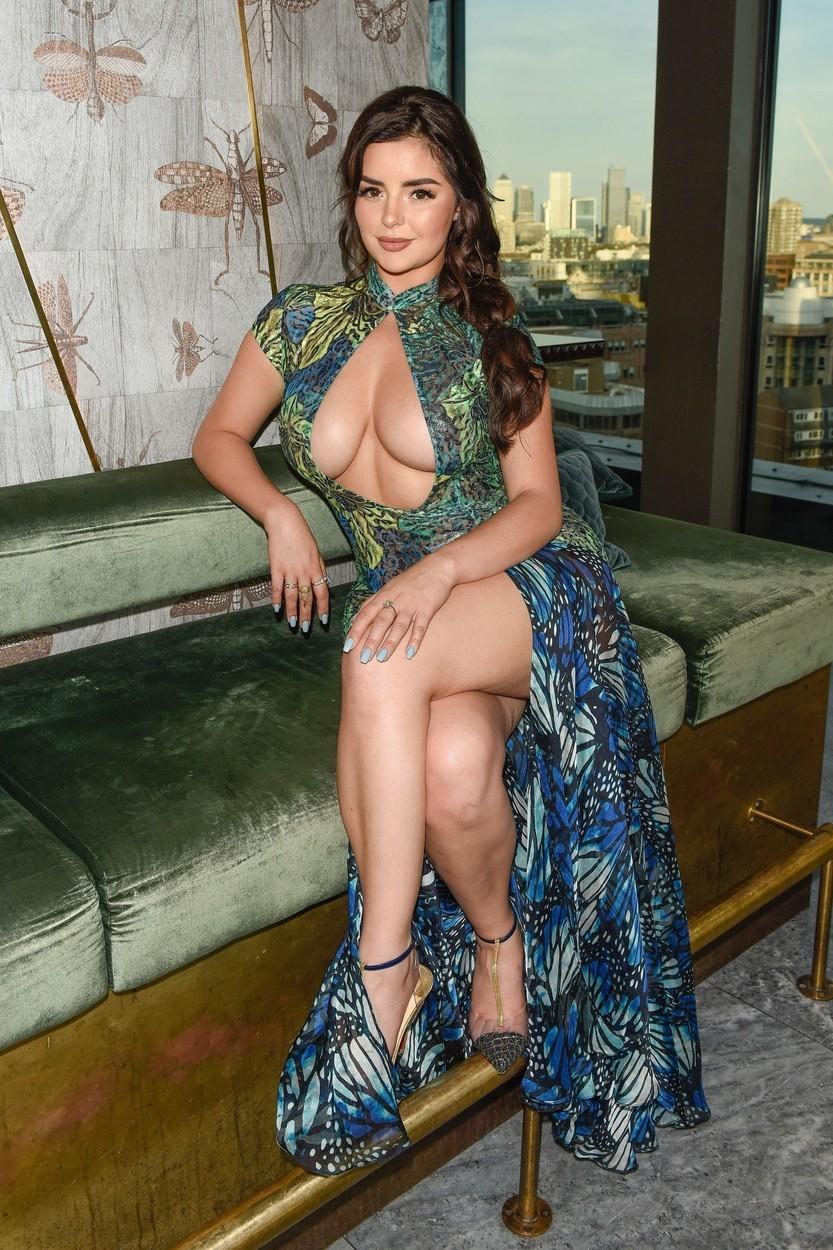 Sexy influencerka a modelka Demi Rose