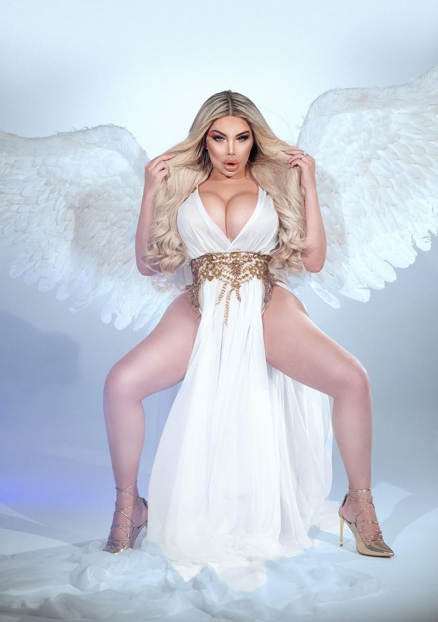Svůdnice Jessica Alves jako neřestný andílek