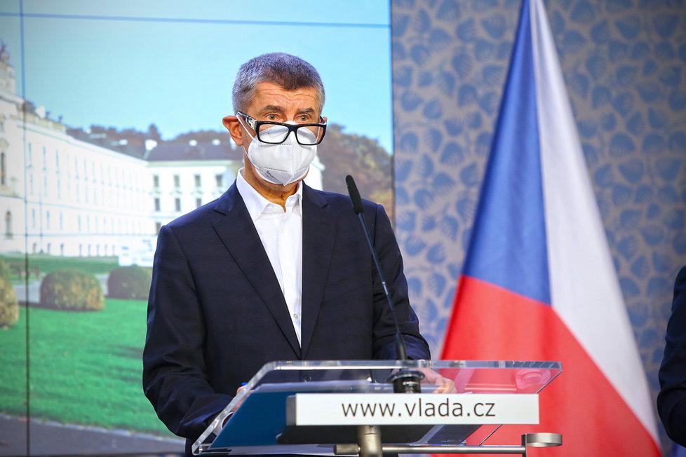 Andrej Babiš (ANO) po jednání tripartity