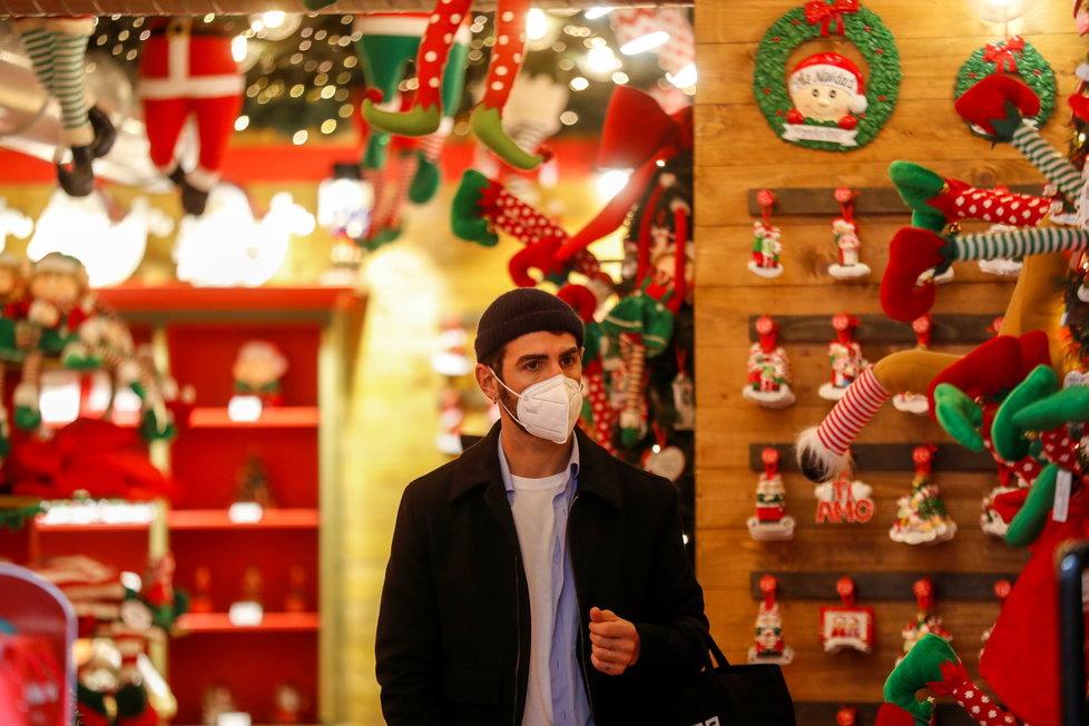 Vánoce v Itálii ve stínu koronaviru (2.12.2020)