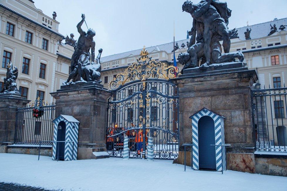 Zimní počasí v Česku