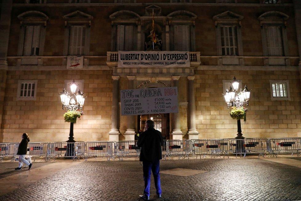 Koronavirus v Barceloně