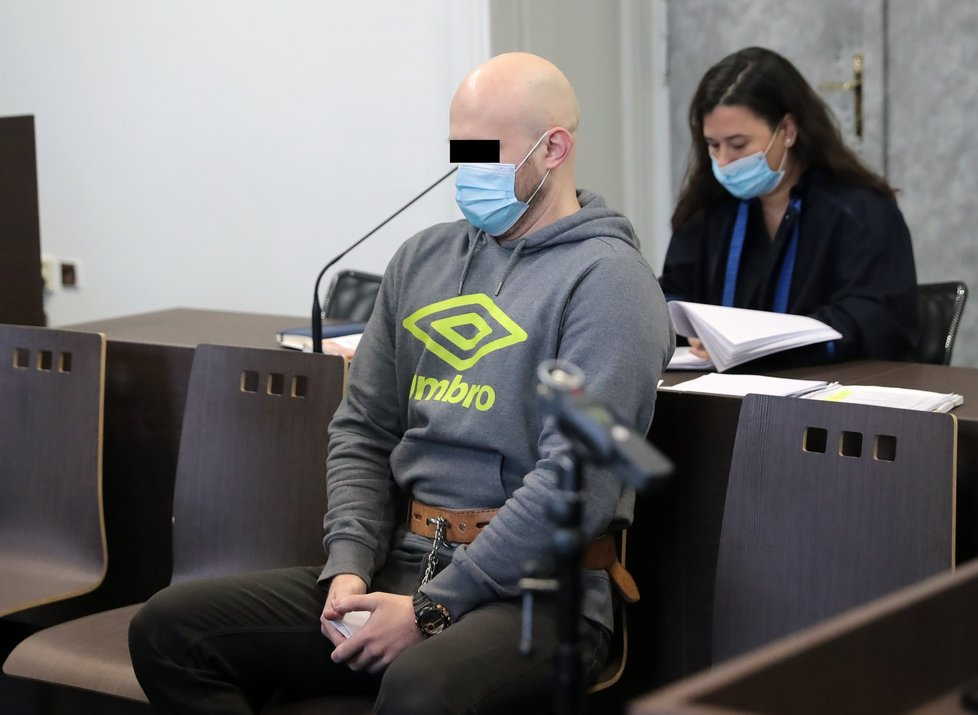 Martin K. u soudu 4. prosince 2020.