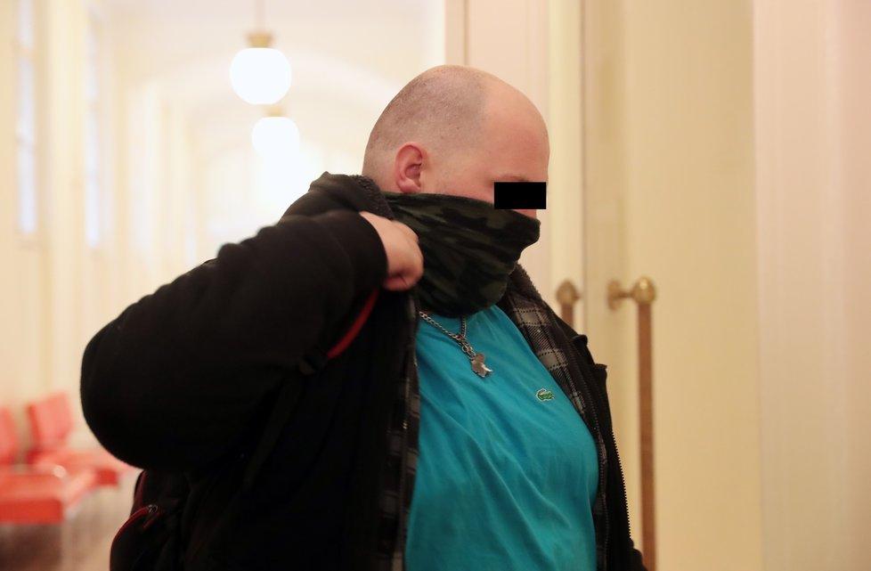 Svědek Jaroslav F. u soudu 4. prosince 2020.