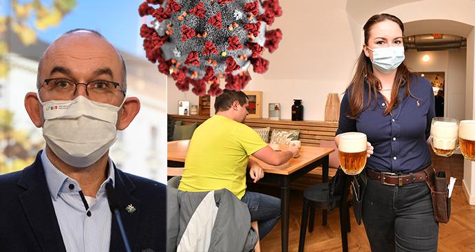 Kluby a restaurace porušují nařízení, Blatný vyžaduje milionové pokuty