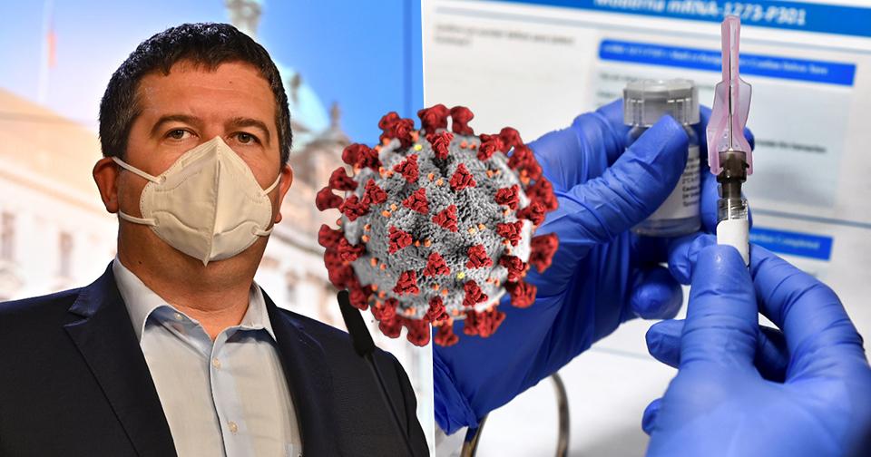 Očkování bude dobrovolné a zdarma, navrhne vláda. Hamáček chce získat podporu Čechů.