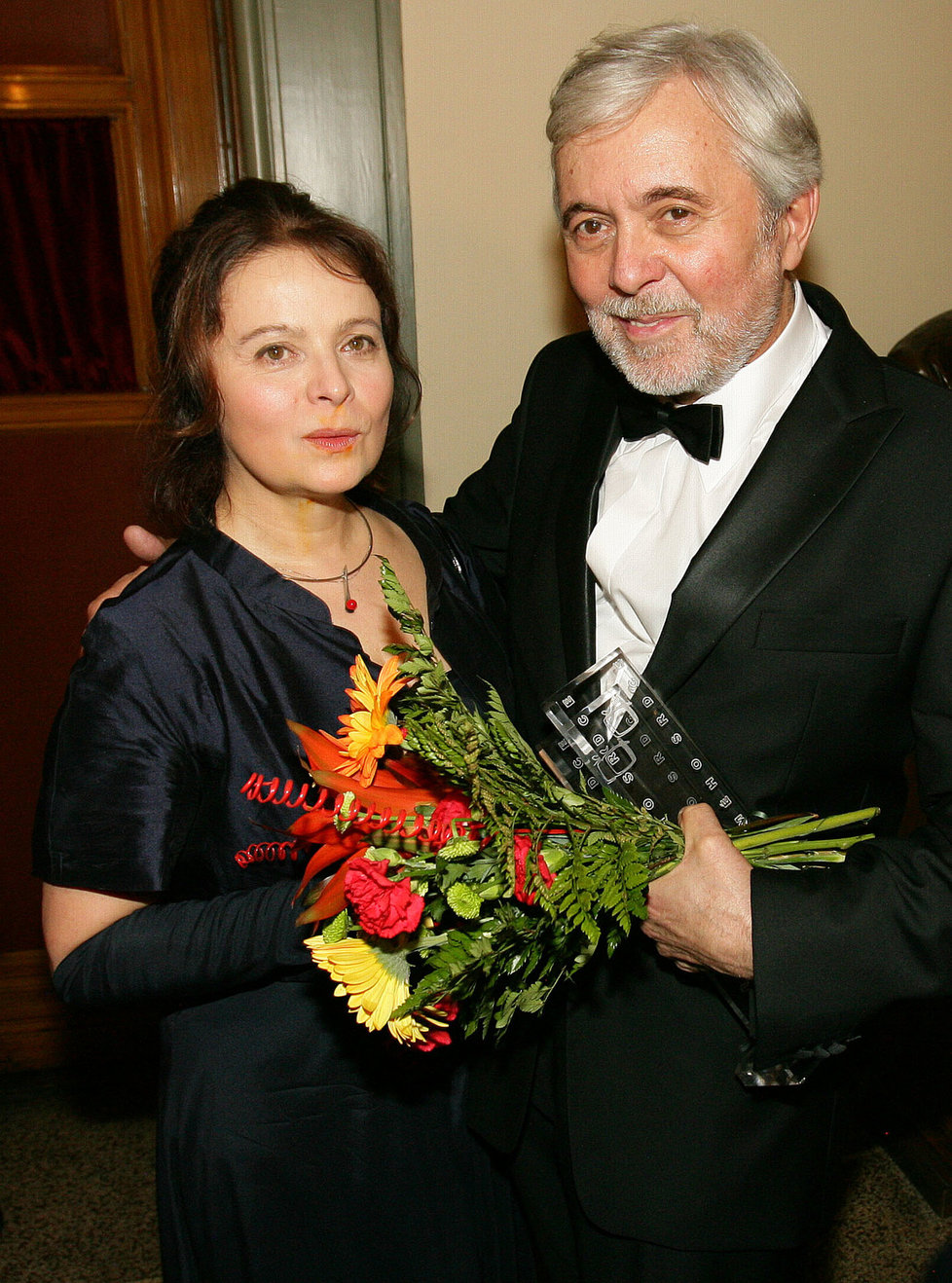 Josef Abrhám s manželkou Libuší Šafránkovou