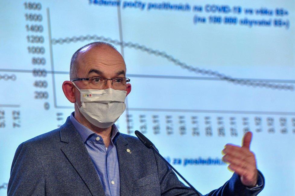 Tisková konference po jednání vlády (7. 12. 2020): Jan Blatný (za ANO)