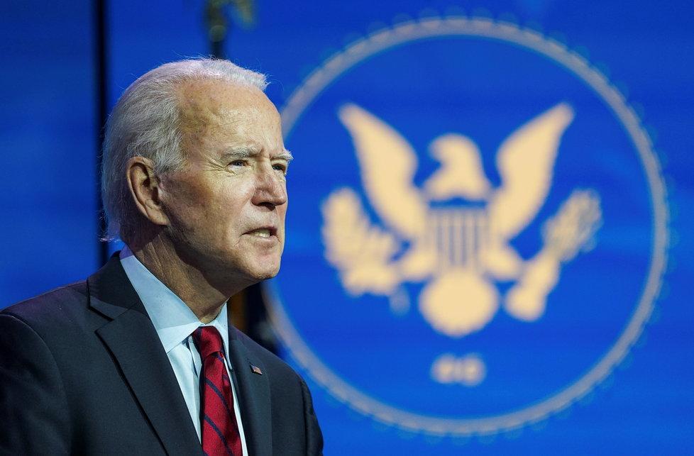 Zvolený americký prezident Joe Biden (8.12.2020)