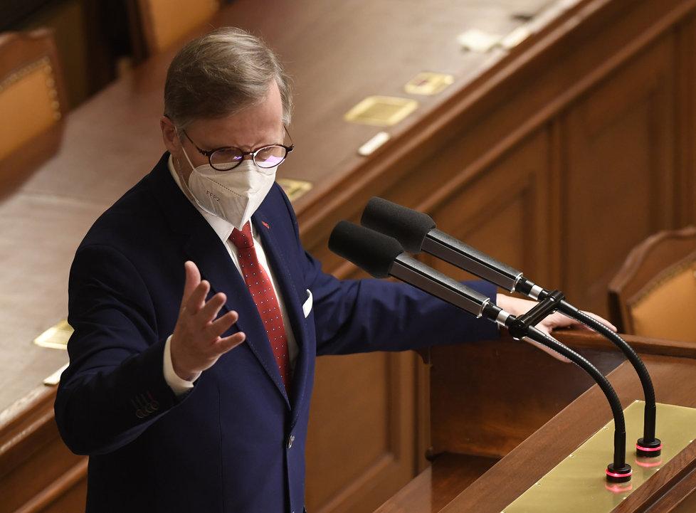 Jednání Sněmovny o nouzovém stavu: Petr Fiala (ODS) (9.12.2020)