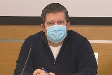Vicepremiér Jan Hamáček (ČSSD) po jendání Ústředního krizového štábu (11.12.2020)