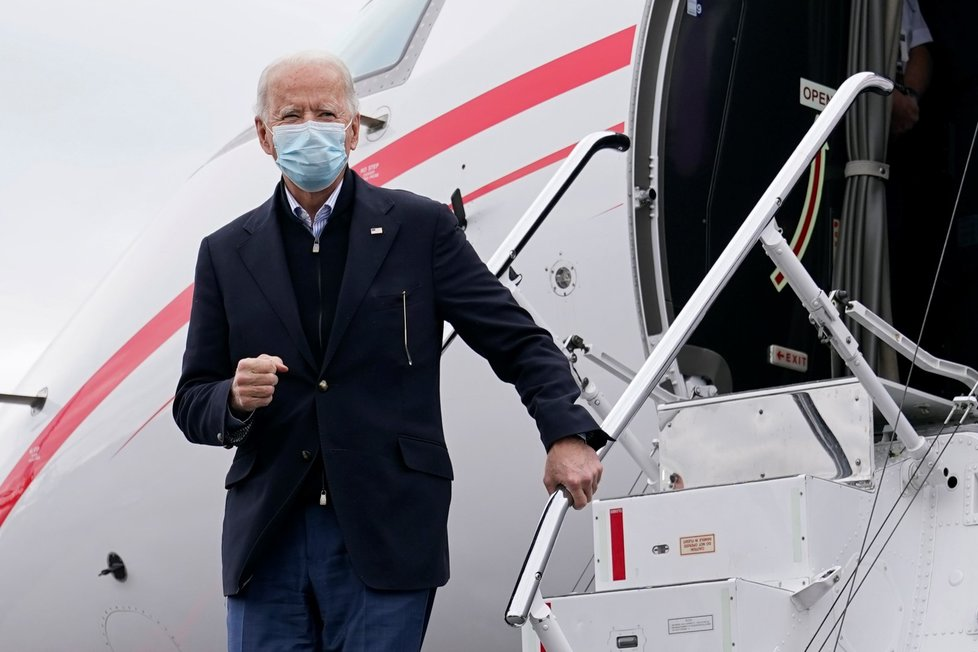 Zvolená americký prezident Joe Biden. (15. 12. 2020)