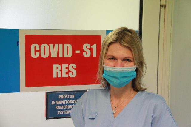 Doktorka Hana Krásová z Fakultní nemocnice Královské Vinohrady v Praze.