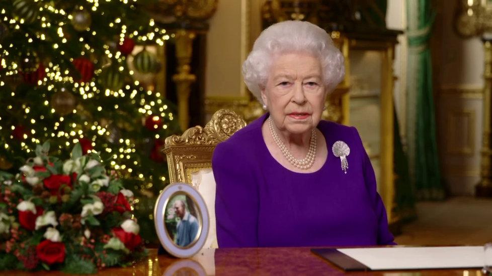 Vánoční projev britské královny Alžběty II.