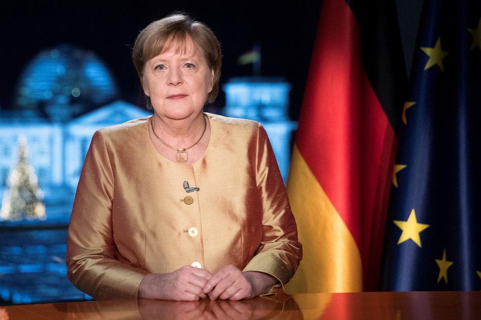 Silvestrovské poselství německé kancléřky Angely Merkelové