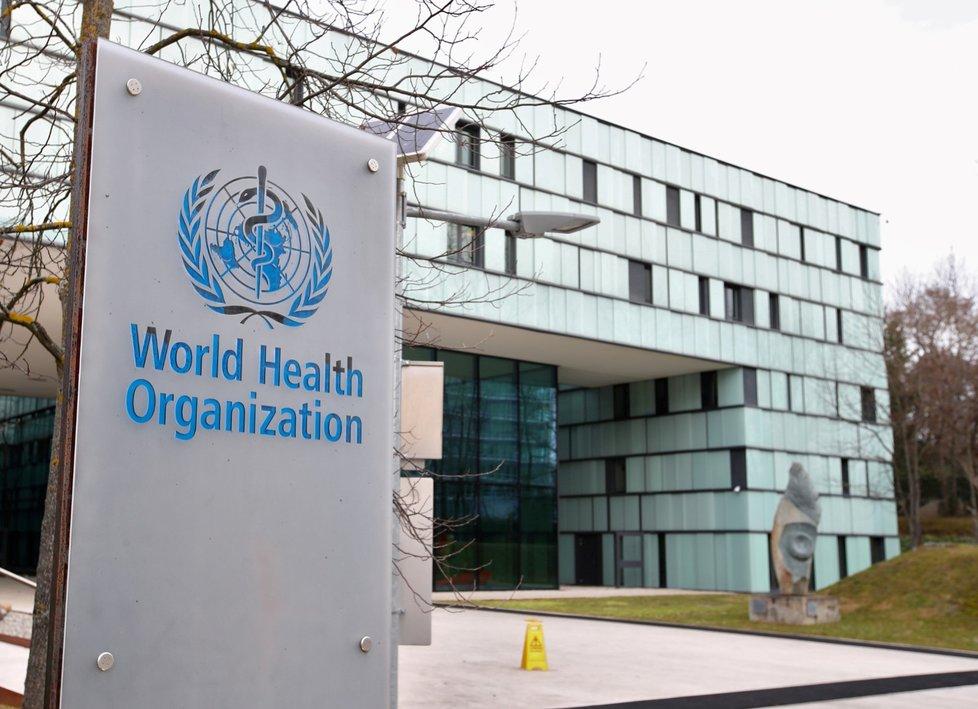 Sídlo Světové zdravotnické organizace v Ženevě ve Švýcarsku