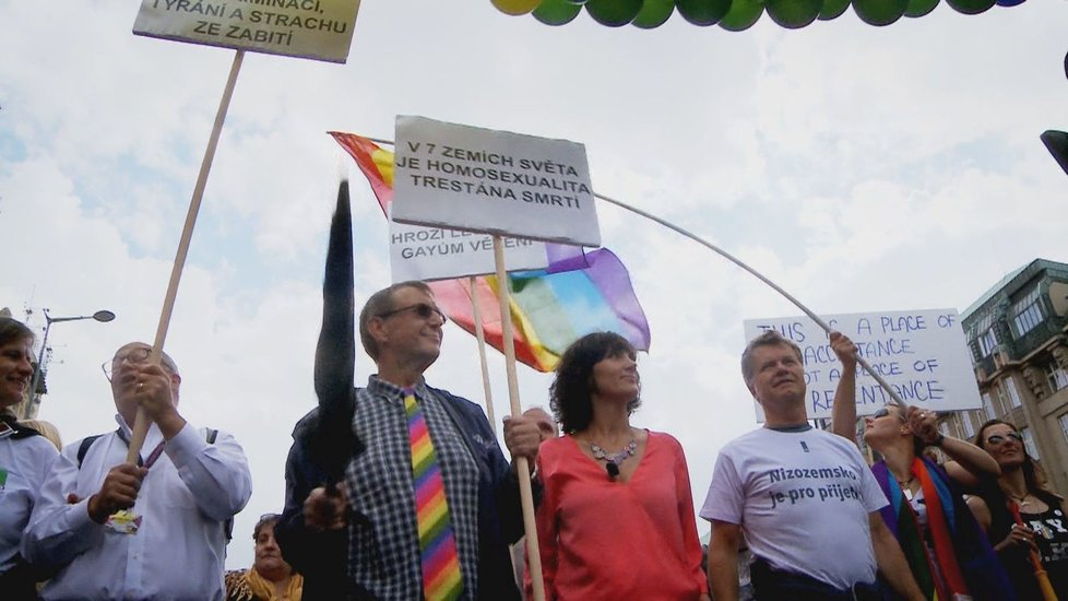 Ester Janečková na Prague Pride