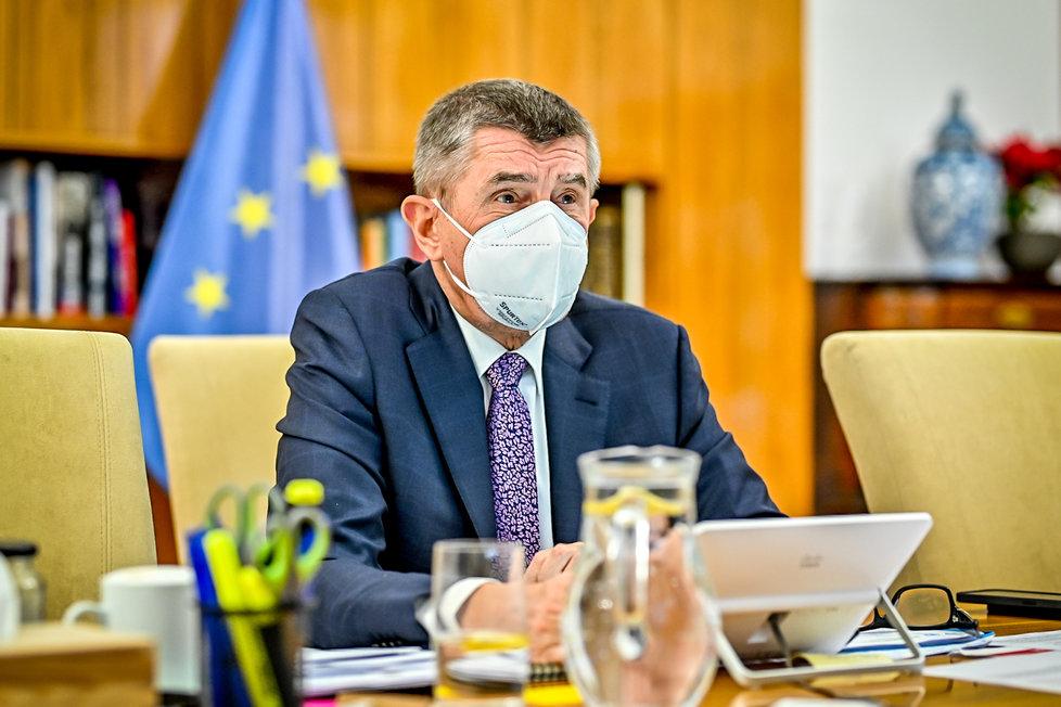 První jednání vlády v roce 2021: Andrej Babiš (ANO) (4.1.2021)