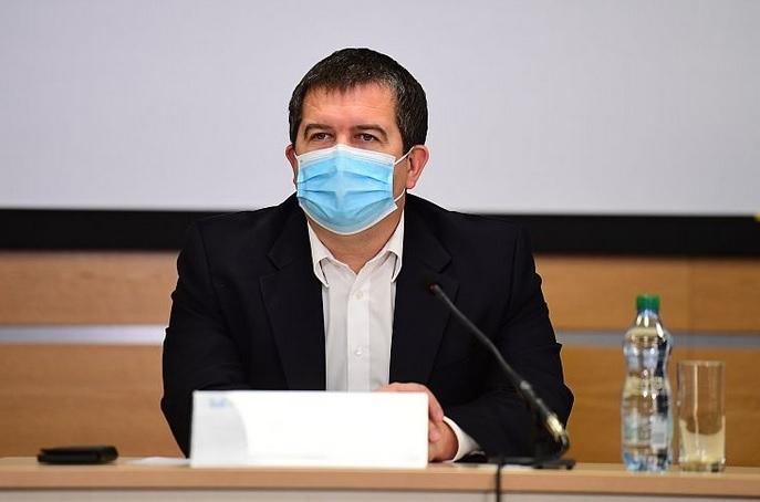 Vicepremiér Jan Hamáček (ČSSD) po jednání Ústředního krizového štábu