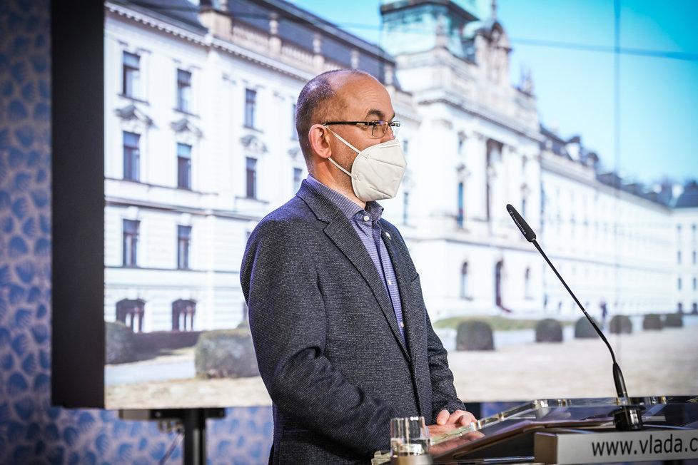 Jednání vlády (11. 1. 2021): Jan Blatný (za ANO)