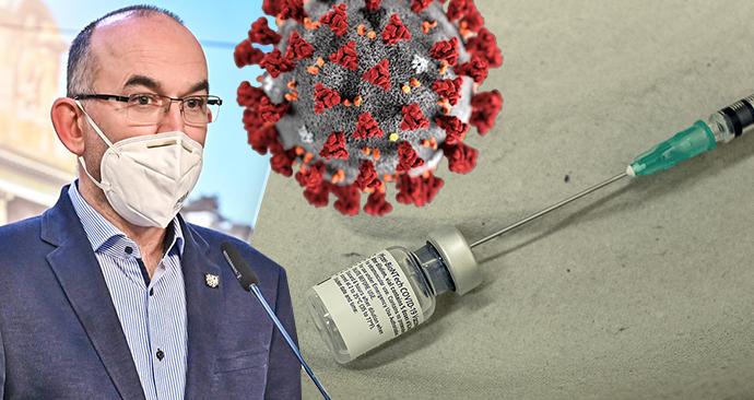 Jan Blatný (za ANO) na tiskovce po jednání vlády, očkování v Libereckém kraji
