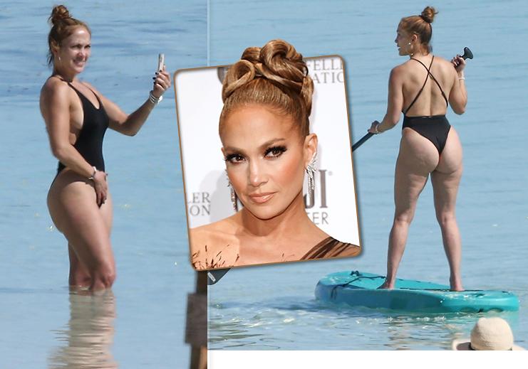 Jennifer Lopez bez retuše svého pozadí