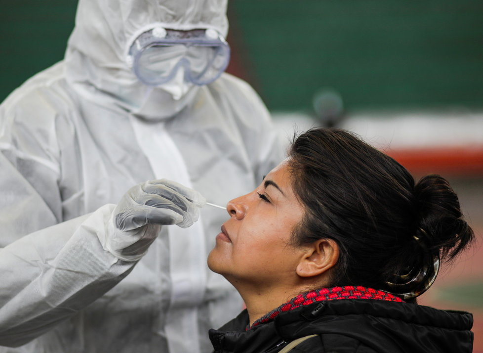 Antigenní testy získaly na oblibě i v Bolívii (12.1.2021)
