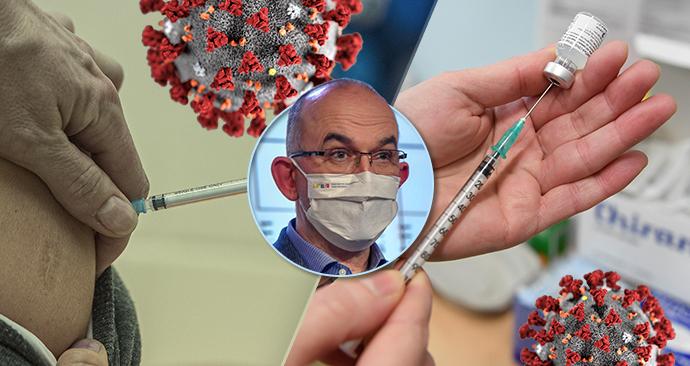 Ministr zdravotnictví Jan Blatný (za ANO) o vakcínách