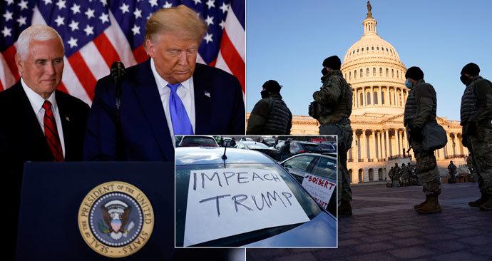 Historický moment v USA: Sněmovna projednává ústavní žalobu na Trumpa.