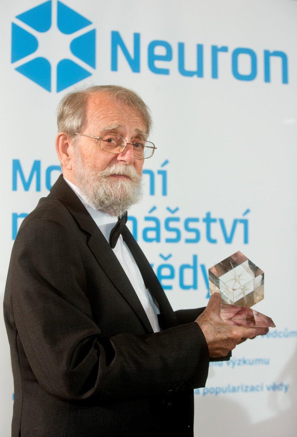Ve věku 87 let zemřel 14. ledna 2021 mezinárodně uznávaný archeolog Evžen Neustupný (na archivním snímku z 11. prosince 2014).
