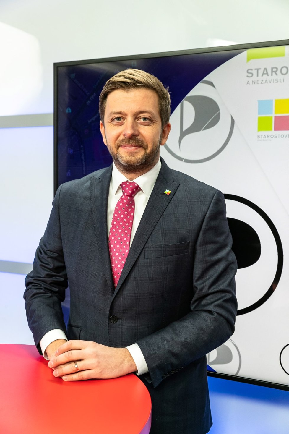 Předseda Starostů a nezávislých Vít Rakušan v Epicentru 19.1.2021