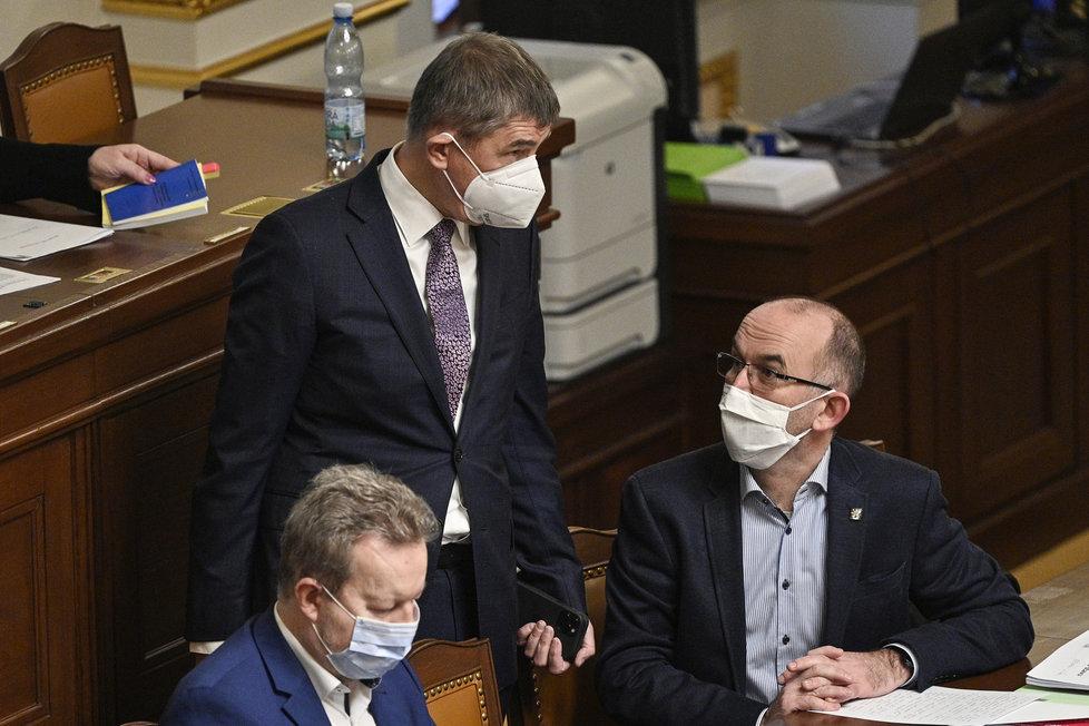 Jednání Poslanecké sněmovny o prodloužení nouzového stavu (21.1.2020)