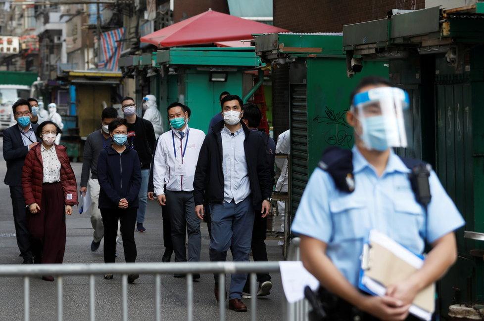 Koronavirs v Hongkongu.