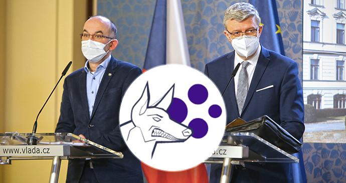 Ministr Blatný a vicepremiér Havlíček na tiskovce po jednání vlády