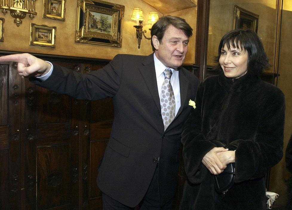 Ladislav Štaidl a Zora Jandová