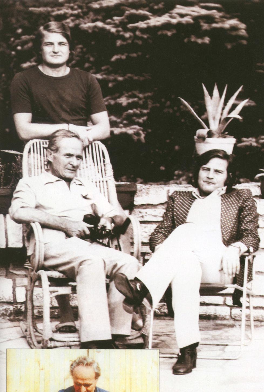 Ladislav Štaidl s tatínkem