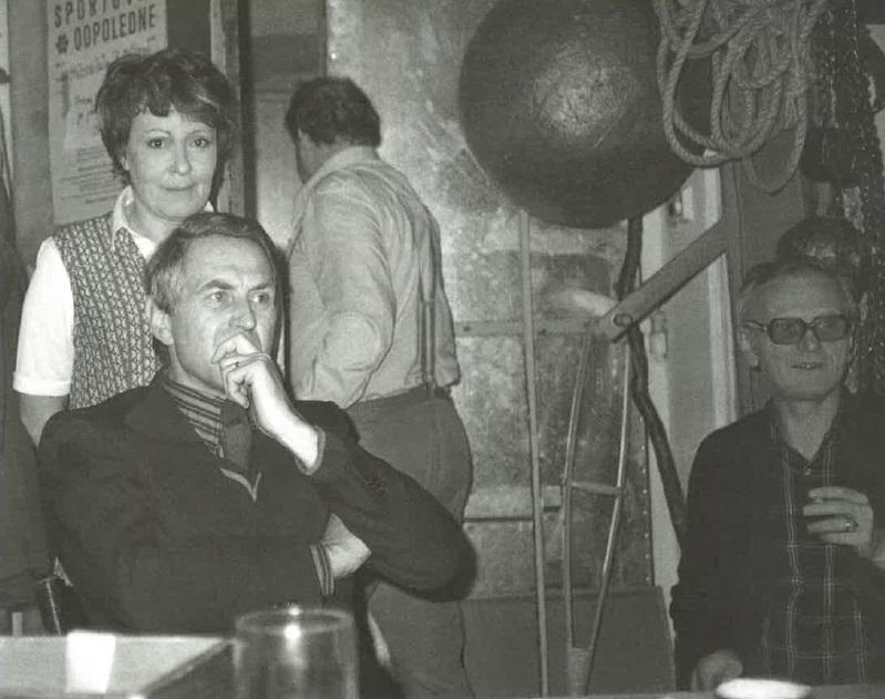 Jiřina Bohdalová a Jiří Hubač