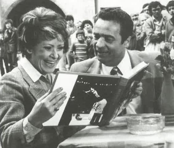 Jiřina Bohdalová s Vladimírem Menšíkem