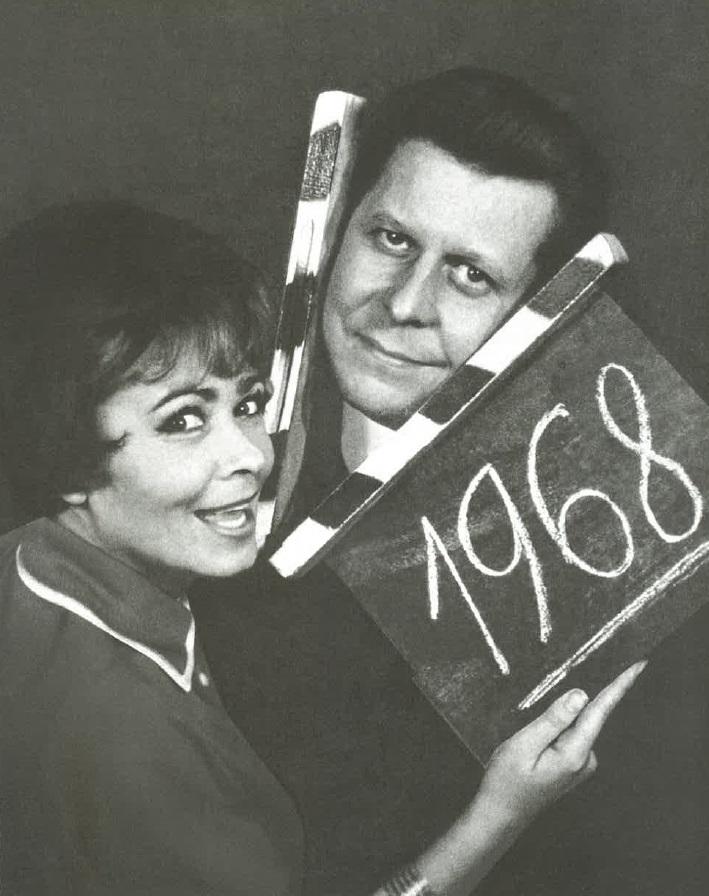 Jiřina Bohdalová s Vladimírem Dvořákem